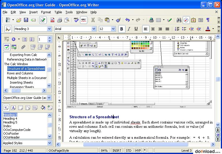 OpenOffice.org 3.4.1