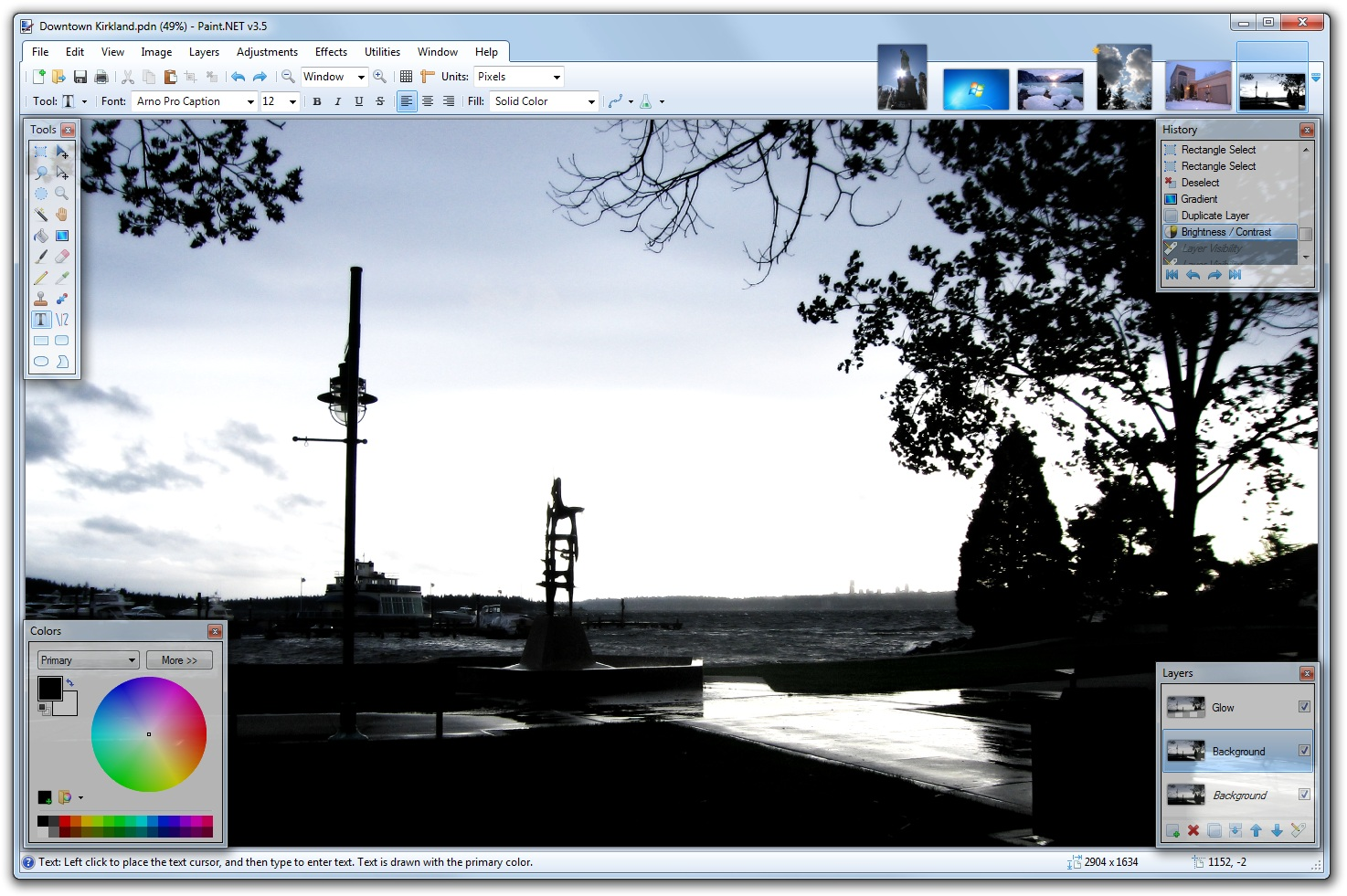 Paint.NET 4.0.16 free photo editor