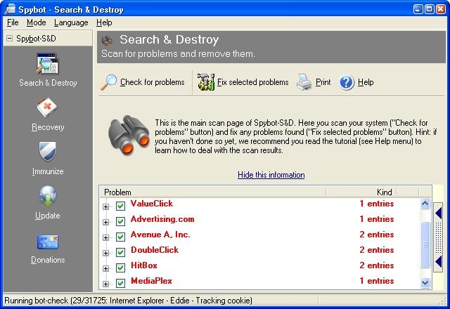 Spybot Search, Destroy 2.4