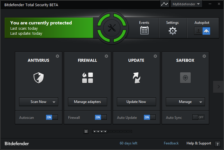 BitDefender 1.0.21 Antivirus Free Edition